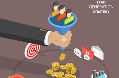 generate leads website